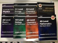 AS and A level revision guides