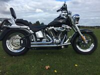 Harley Davidson Fat Boy 1550cc immaculate full HD service history