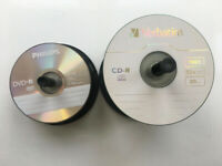 Blank CD-R and DVD-R disks for sale  Craigleith, Edinburgh