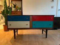 Vintage MCM Teak Drawers/Sideboard by BellAnew