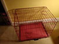 Pet Crate / Dog Cage Pink