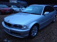 BMW 318CI SE COUPE .1 YEAR M.O.T. 2 OWNERS.LAST OWNER FOR 10 YEARS.2 KEYS.