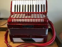 Chanson 48 base piano accordion.