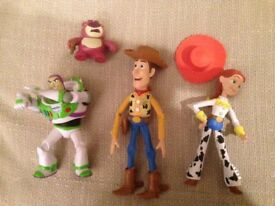 Toy Story figures x4 (CAN POST)