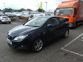 2009 09 SEAT IBIZA 1.4 SPORT 3D 85 BHP***GUARANTEED FINANCE***PART EX WELCOME***