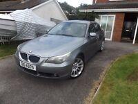 BMW 530 for sale,Diesel , manual gearbox, Full Year MOT