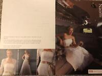 OK! Exclusive David Emanuel 'Naomi' Wedding Dress size 10