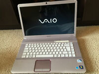 Sony Vaio, Pink, Dual core, 3GB, 320GB HDD, Office 2016, Windows 10 HD laptop - RRP £699