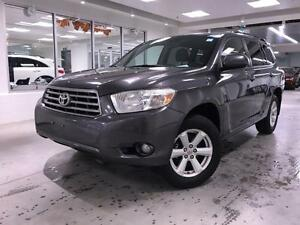 2009 Toyota Highlander V6 AWD, ALLOYS, PWR GROUP, PWR SEAT, ONE
