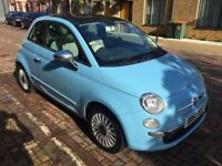 2011 Fiat 500 1.2 Lounge 3dr (start/stop) family owned and loved car for sale