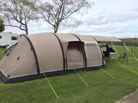 Outwell Concorde L Smart Air Polycotton tent with footprint and carpet
