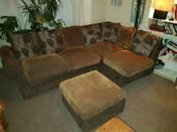 Corner sofa, sofa bed, folding bed, sofa pouffe