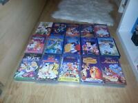 Disney Popular VHS Tapes