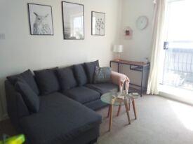 1 bedroom flat – balcony – parking – south facing – quiet cul-de-sac – central Plymouth