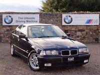 BMW E36 328i Saloon, Manual, 99k Miles, 3 Owners, FSH, MOT: 1 Year