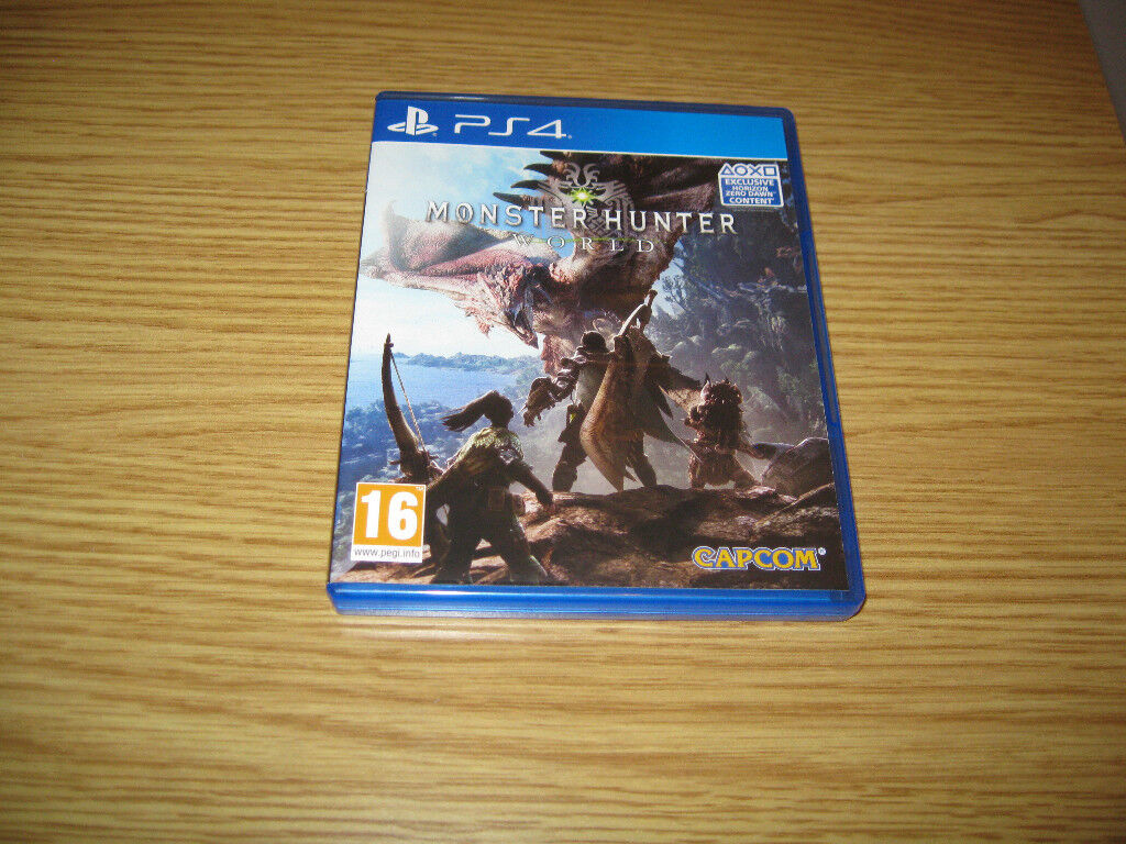 Monster Hunter World PS4 - Excellent condition | in Easter Road, Edinburgh  | Gumtree