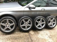 Mercedes c class 18 inch alloy wheels