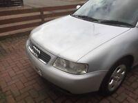 Audi A3 1.9 turbo diesel 03 plate silver