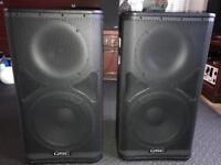 qsc speakers monitors for sale gumtree