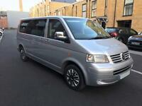 Vw Transporter Shuttle 1.9 T30TDI 104 07 Reg Manual LWB