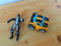 transformer bumblebee and figure both for £2