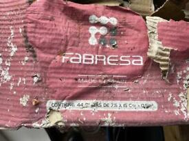 Fabresa handmade Spanish metro tiles - approx 3m sq