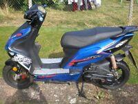 ajs firefox 50cc 2013