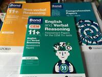 11+ or entrance exam revision books