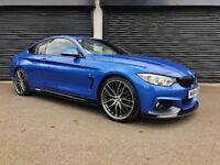 2014 BMW 420D M SPORT AUTO M PERFORMANCE KIT NOT 430D 320D 520D 530D AUDI A4 A5 A6 A7 S LINE C220 X5