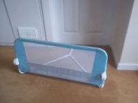 Blue Lindam Folding Bed Guard