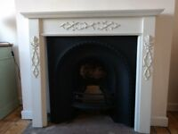 Reduced: £20!Fireplace wooden surround