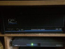 QSC Audio amp USA 1300