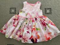 Ted baker dress baby 12-18 months