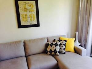 Grey 2 seater Freedom lounge plus chaise Wollongong Wollongong Area Preview