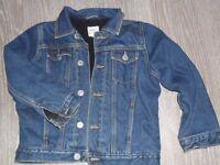 Next 5/6yrs padded denim jacket