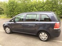 Vauxhall zafira life 7 seater e/w e/m a/con very reliable any trial full mot £1595 ono