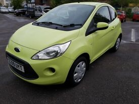 FORD KA STYLE NEW SHAPE ONLY 50000 m ONLY £30 ROAD TAX LOW INSURANCE IDEAL FIRST CAR
