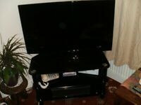 Bush TV 42 inch screen, and TV Stand