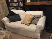 2 seat sofa, spare set loose covers