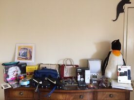 House clearance - bags, gifts, language, toys, iPad and iPhone accessories