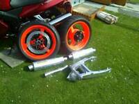 Honda blackbird spare parts open to offers