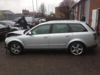 Audi A4 TDI Braking For Spare Parts Well Looked After Before Crash Engine Starts
