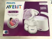 Philips AVENT double automatic breast pump incl bag