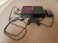Xbox one with controller and leads