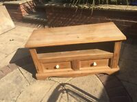 Solid pine wood to table or side table.