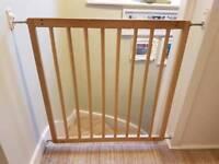 BabyDan No Trip Wooden Stair Gate