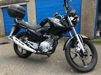 Yamaha YBR125 - Immaculate condition. Full service history - done 20 miles since service and MOT.