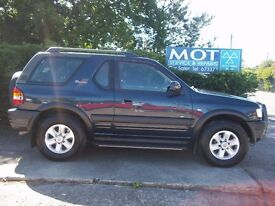 2002 Vauxhall Frontera Sport 2.2 Diesel
