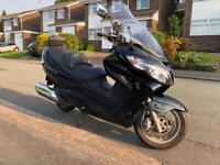 Suzuki Burgman 2008 K8 low mileage. Great condition.