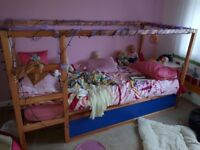 IKEA reversible children's cabin bed